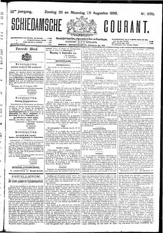 Schiedamsche Courant 1898-08-29