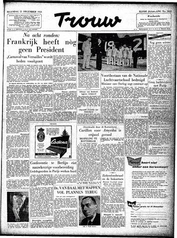 Trouw / De Rotterdammer 1953-12-21