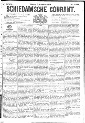 Schiedamsche Courant 1908-11-17