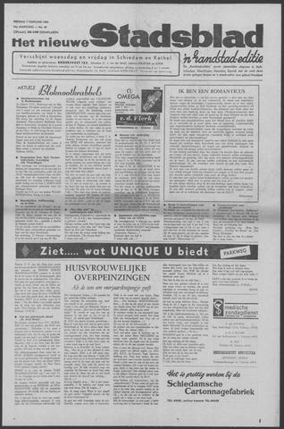 Het Nieuwe Stadsblad 1964-02-07