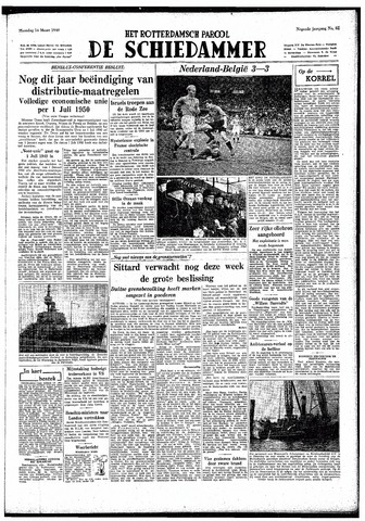 Rotterdamsch Parool / De Schiedammer 1949-03-14