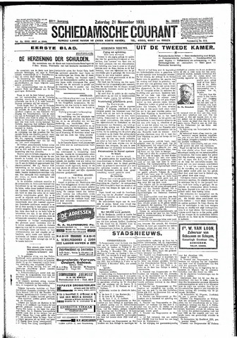 Schiedamsche Courant 1931-11-21