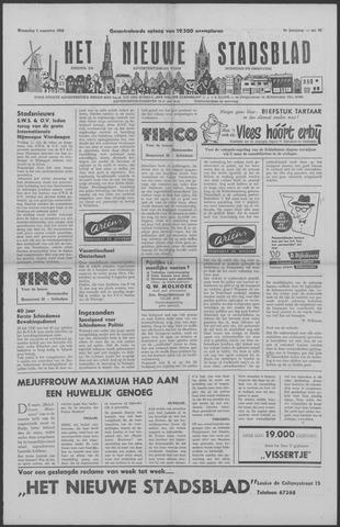 Het Nieuwe Stadsblad 1956-08-01