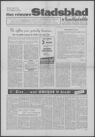 Het Nieuwe Stadsblad 1963-02-01