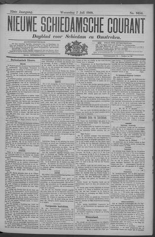 Nieuwe Schiedamsche Courant 1909-07-07