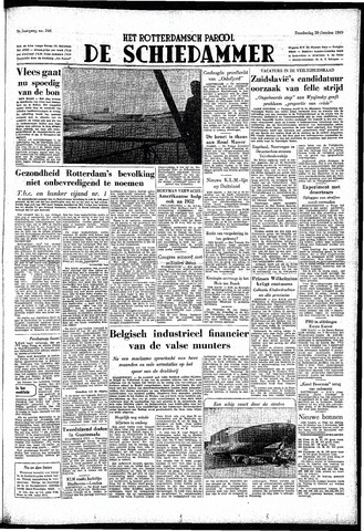 Rotterdamsch Parool / De Schiedammer 1949-10-20