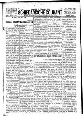 Schiedamsche Courant 1929-11-21