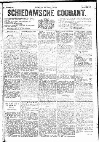 Schiedamsche Courant 1908-03-14