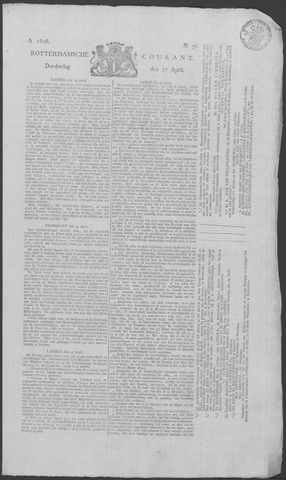 Rotterdamse Courant 1826-04-27
