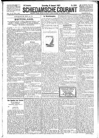 Schiedamsche Courant 1927-01-08
