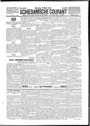Schiedamsche Courant 1933-03-08