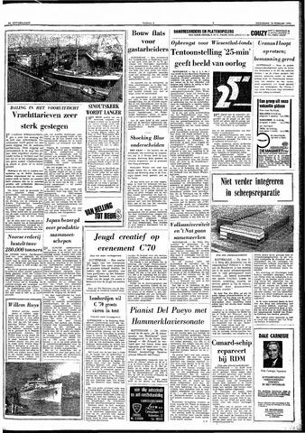 Trouw / De Rotterdammer 1970-02-18