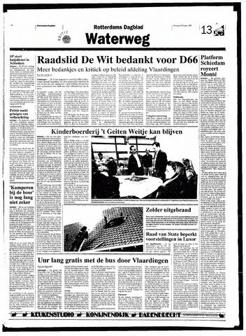 Rotterdamsch Nieuwsblad / Schiedamsche Courant / Rotterdams Dagblad / Waterweg / Algemeen Dagblad 1998-02-24