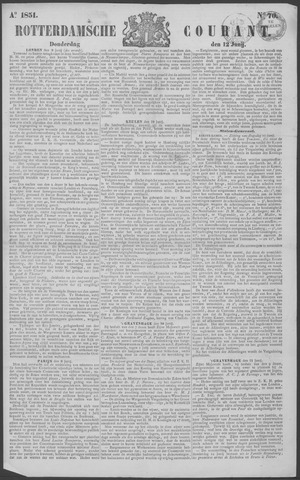 Rotterdamse Courant 1851-06-12