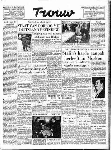 Trouw / De Rotterdammer 1955-01-26