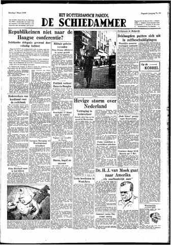 Rotterdamsch Parool / De Schiedammer 1949-03-01