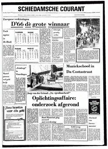 Rotterdamsch Nieuwsblad / Schiedamsche Courant / Rotterdams Dagblad / Waterweg / Algemeen Dagblad 1979-06-12