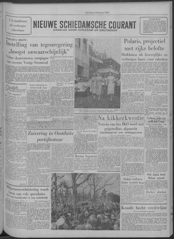 Nieuwe Schiedamsche Courant 1958-02-08