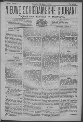 Nieuwe Schiedamsche Courant 1909-03-22