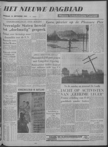 Nieuwe Schiedamsche Courant 1961-09-12