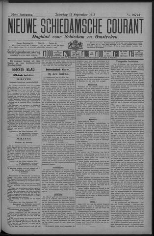 Nieuwe Schiedamsche Courant 1913-09-13