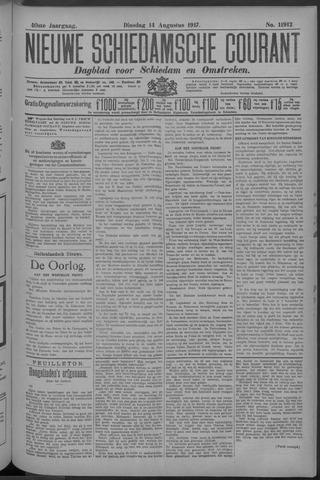 Nieuwe Schiedamsche Courant 1917-08-14