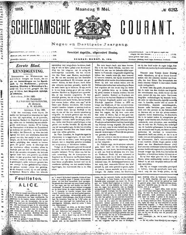 Schiedamsche Courant 1885-05-11