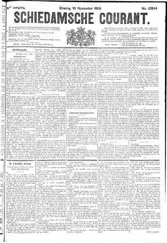 Schiedamsche Courant 1908-11-10