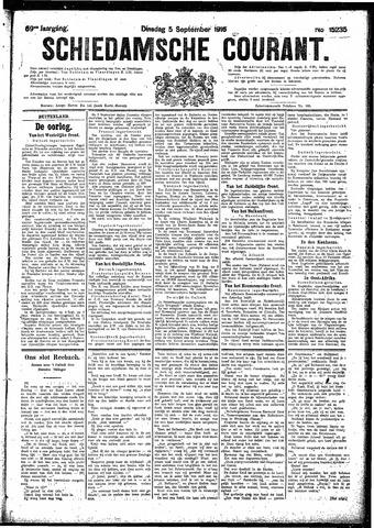 Schiedamsche Courant 1916-09-05