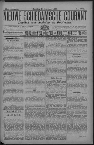 Nieuwe Schiedamsche Courant 1913-09-15