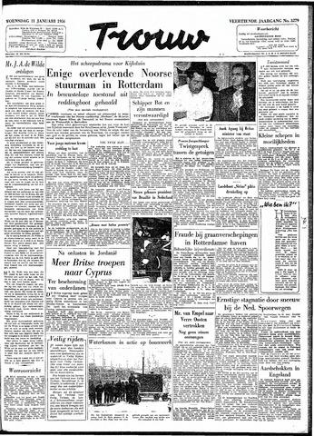 Trouw / De Rotterdammer 1956-01-11