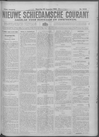 Nieuwe Schiedamsche Courant 1929-08-26