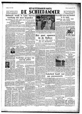 Rotterdamsch Parool / De Schiedammer 1948-07-02