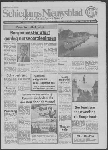 Schiedams Nieuwsblad 1984-04-18