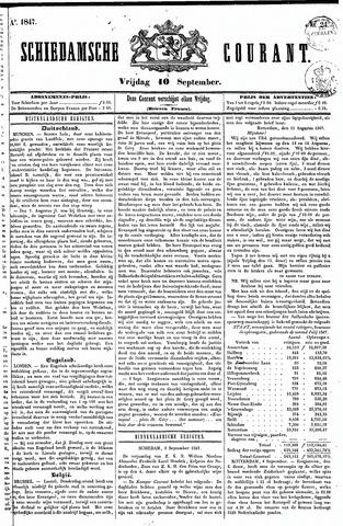 Schiedamsche Courant 1847-09-10