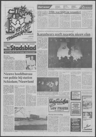 Het Nieuwe Stadsblad 1988