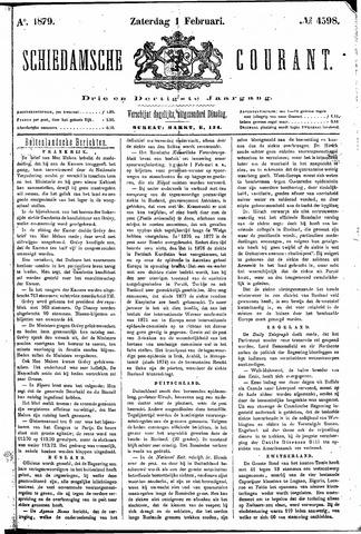 Schiedamsche Courant 1879-02-01