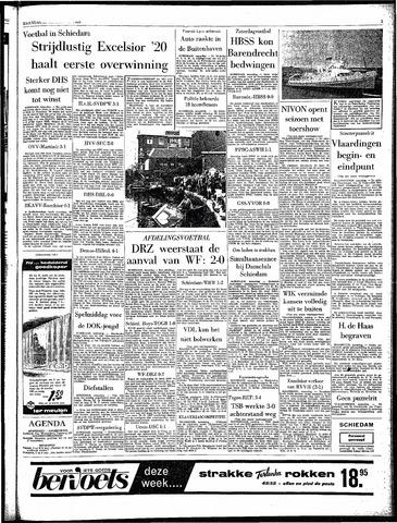 Rotterdamsch Parool / De Schiedammer 1963-09-23