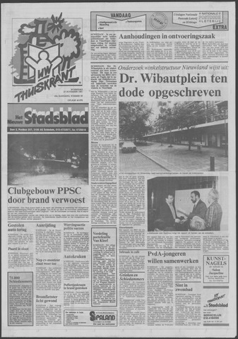 Het Nieuwe Stadsblad 1991-11-27