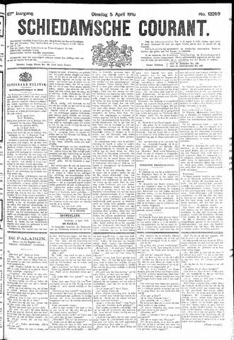 Schiedamsche Courant 1910-04-05