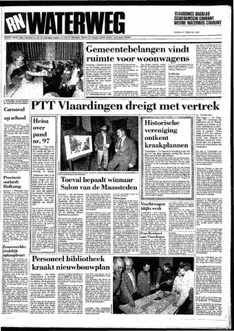 Rotterdamsch Nieuwsblad / Schiedamsche Courant / Rotterdams Dagblad / Waterweg / Algemeen Dagblad 1987-02-27