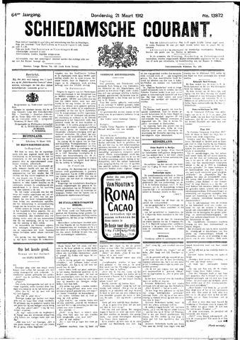 Schiedamsche Courant 1912-03-21