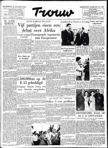 Trouw / De Rotterdammer 1955-08-25