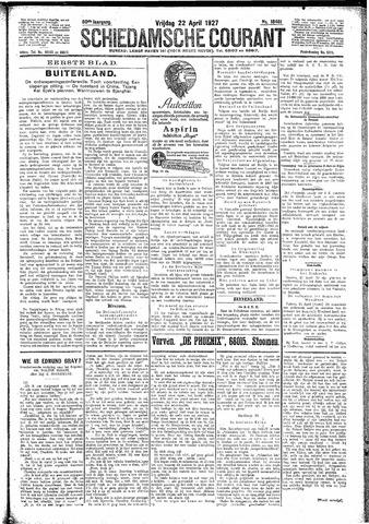 Schiedamsche Courant 1927-04-22