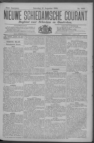 Nieuwe Schiedamsche Courant 1909-08-21