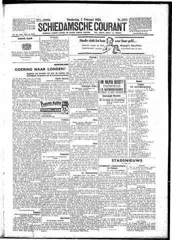 Schiedamsche Courant 1935-02-07
