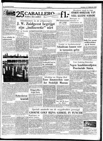 Trouw / De Rotterdammer 1962-02-13