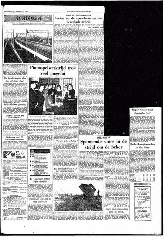 Rotterdamsch Nieuwsblad / Schiedamsche Courant / Rotterdams Dagblad / Waterweg / Algemeen Dagblad 1959-02-05