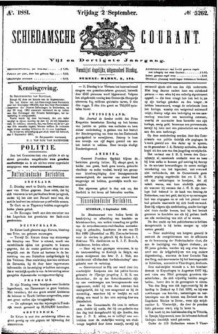 Schiedamsche Courant 1881-09-02