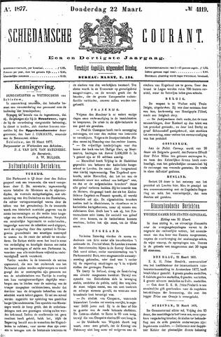 Schiedamsche Courant 1877-03-22